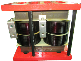 Vertical wiring reactor