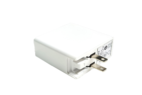 Wall plug power adapter